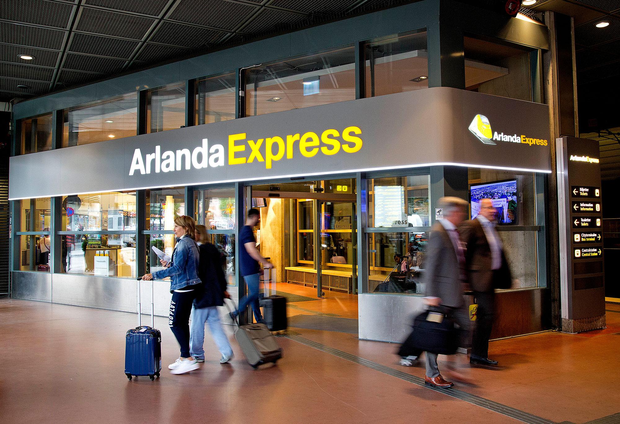 Arlandabanan Arlanda Express
