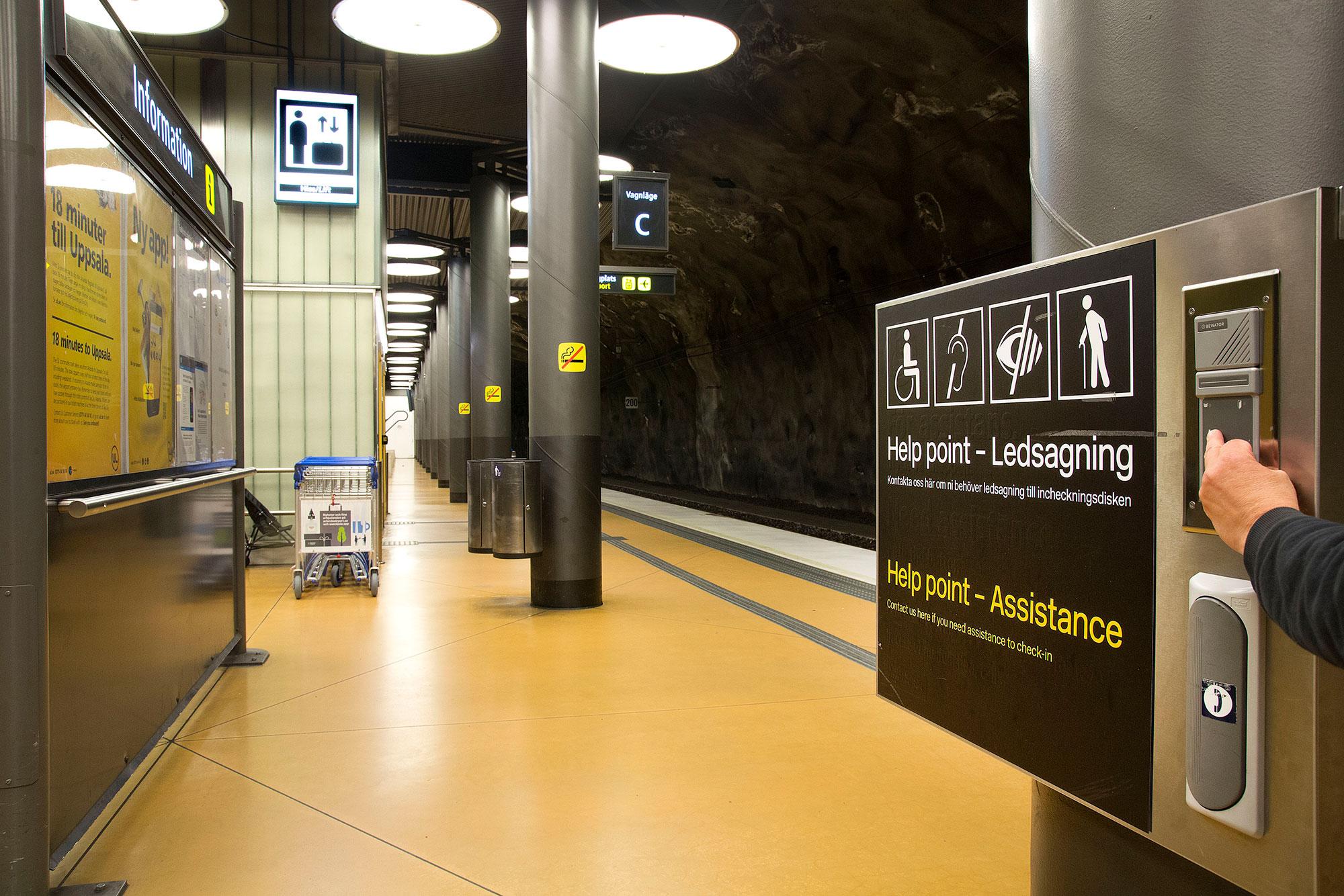 Arlandabanan Information