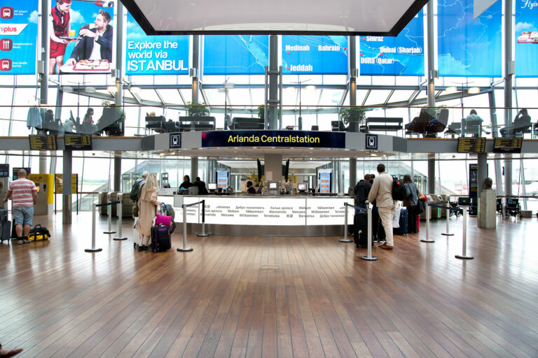 Arlandabanan Pressbild Arlanda Centralstation